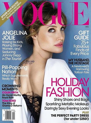 Vogue December 2010 Angelina Jolie