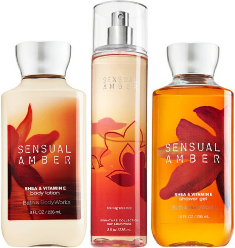 Prada Perfume and Bath & Body Works Sensual Amber