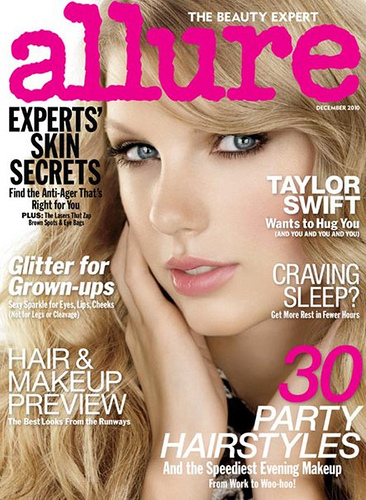 Allure Magazine December 2010 Taylor Swift