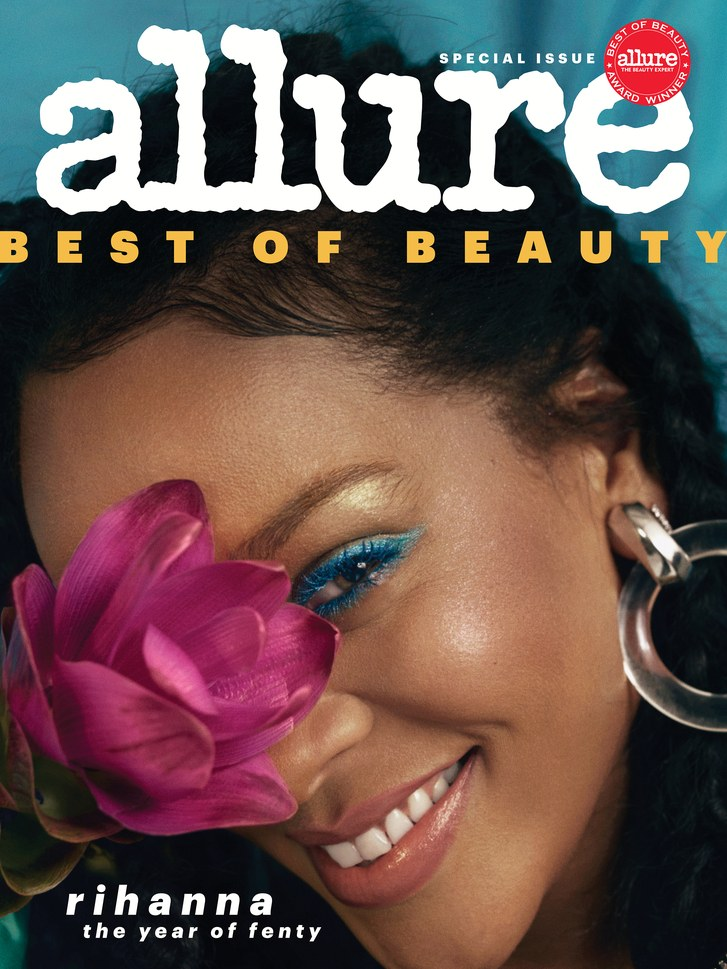 Allure October 2018 Rihanna