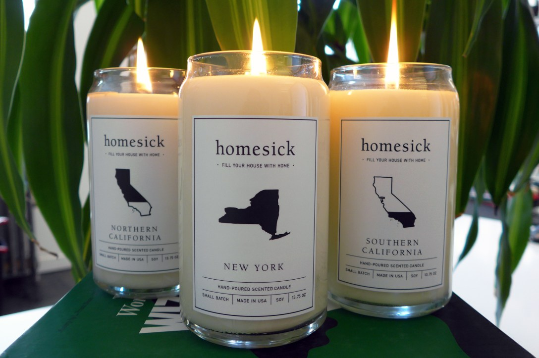 Homesick Candles – Scents by State