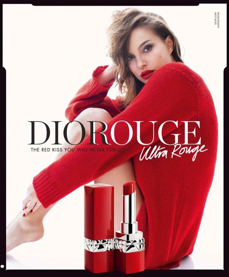 Natalie Portman - Dior Ultra Rouge