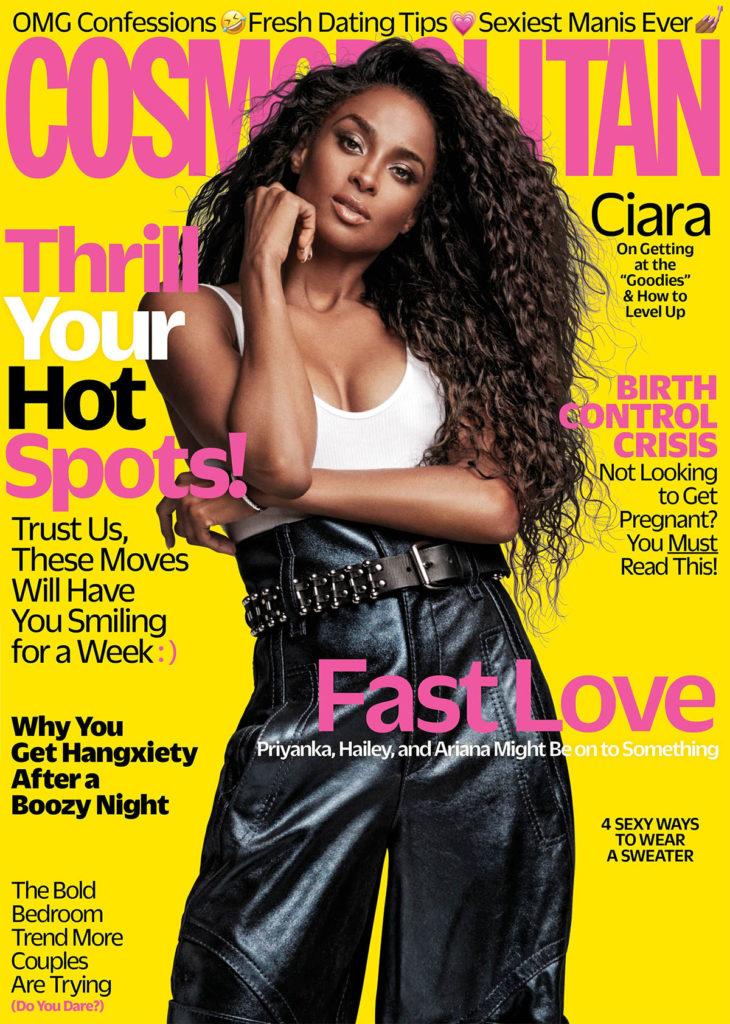 Cosmopolitan Ciara November 2018