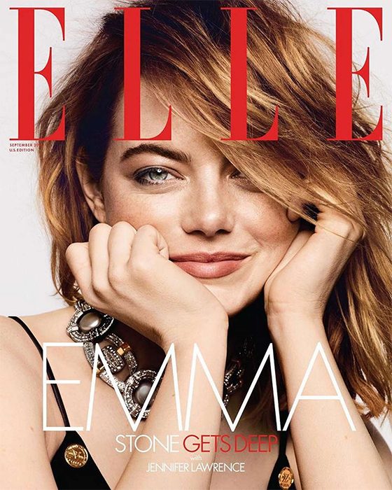Elle September 2018 Emma Stone