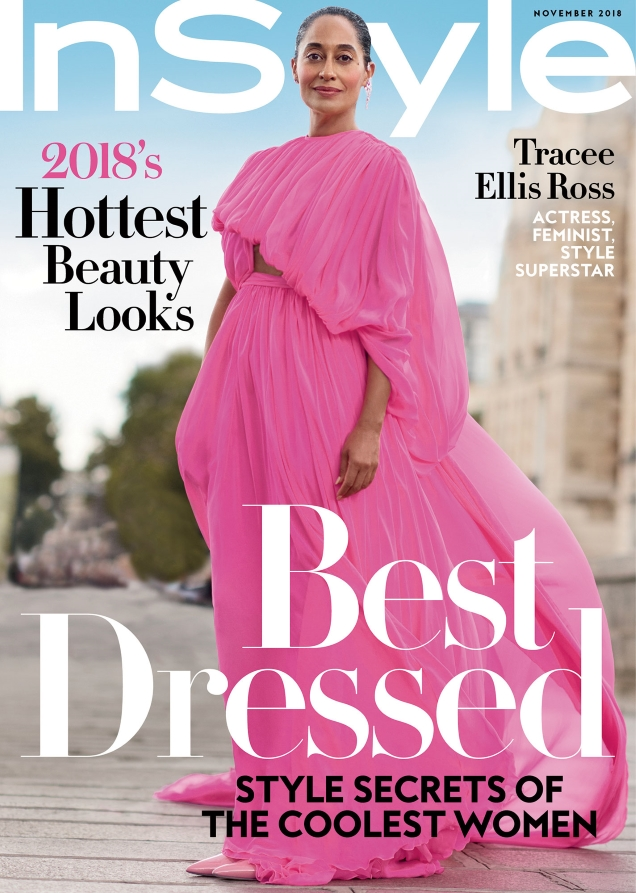 InStyle November 2018 Tracee Ellis Ross