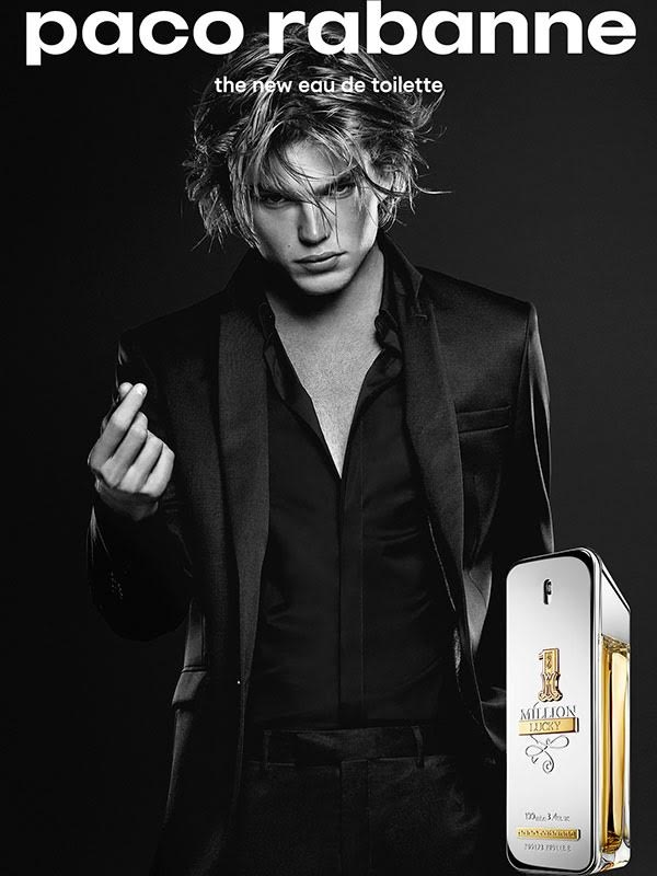 Paco Rabanne 1 Million Lucky Jordan Barrett