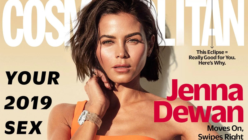 Jenna Dewan in Cosmo January 2019 Issue